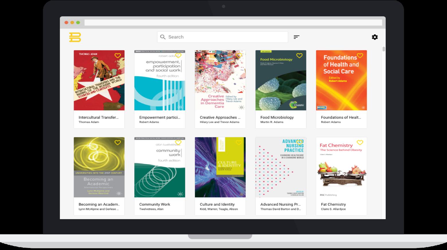 Bibliotech, subscription textbooks online
